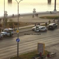 ДТП в центре Омска - есть пострадавшие [Фото]