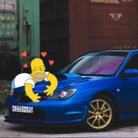 В Омской области 20-летний сельчанин угнал Subaru Impreza