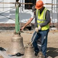 Впервые за 59 лет в Омске зазвонили колокола Воскресенского собора