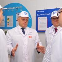 Глава региона и Президент PepsiCo в России – «за» консолидацию производства детского питания в Омске