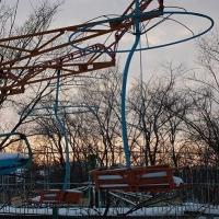 Зимой для омичей будет работать колесо обозрения и еще 17 аттракционов