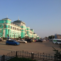 У омского ж/д вокзала появится новая конечная остановка для троллейбусов