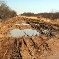 Бурков дал две недели на восстановление размытой дороги Омск-Полтавка