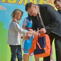 """Сотрудники сети АЗС """"Газпромнефть"""" провели уроки безопасности для школьников"""