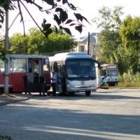В Омске трамвай врезался в автобус