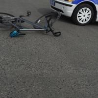 В Омской области молодой водитель наехал на юного велосипедиста