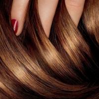 Применение жидкого шелка для волос