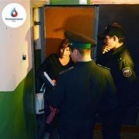 УФССП и Омский водоканал провели рейд по должникам