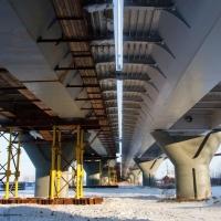 Развязку в Амурском посёлке достроят в конце 2014 года