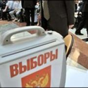 Парламентарии определили сроки предстоящих выборов