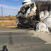 На трассе Омск-Новосибирск произошла смертельная авария