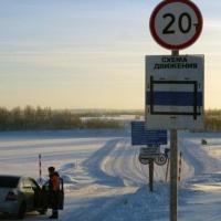 В Омской области функционируют все ледовые переправы