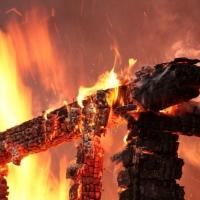 В Омской области отец и 4-летняя дочь сгорели в доме