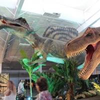 В омском парке открывается выставка двухметровых динозавров