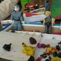Омские пятиклассники «слепили» мультфильм про ниндзя
