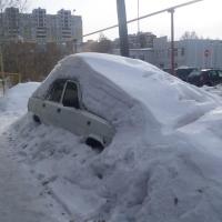 В Омске 14-го февраля выпало рекордное количество снега