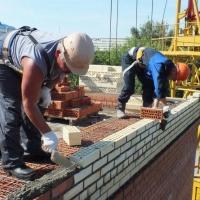 В Омске прошли соревнования среди каменщиков