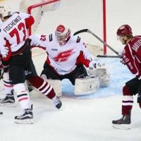 Омский «Авангард» победил «Динамо» из Риги