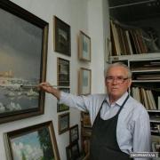 Художник, что рисует лёд Александру Краснопёрову – 80 лет