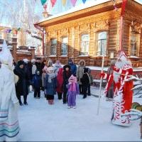 В Большеречье Дед Мороз будет жить до конца января