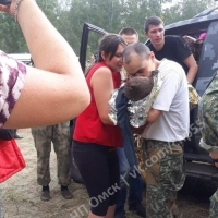 Трехлетнего Колю спустя двое суток нашли в Омской области живым