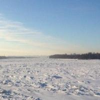 Под Омском на Иртыше обнаружены вмерзшие в лед человеческие останки