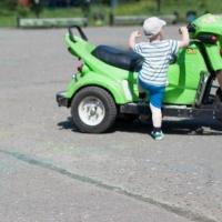 В Омском районе подросток на ВАЗе сбил трехлетнего велосипедиста