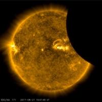 NASA опубликовало видео «главного солнечного затмения»