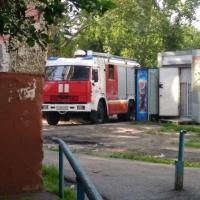Омские школьники подожгли мусоропровод в жилом доме