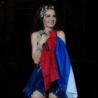 Омские фанаты встретили Наталию Орейро на перроне