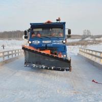 Между Омской и Новосибирской областями появился новый мост