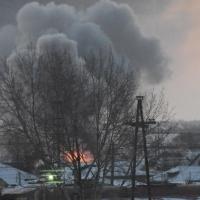 Трое пьяных жителей Омской области погибли в огне из-за самодельного обогревателя