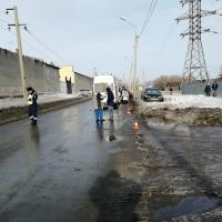 В Омске неизвестную женщину насмерть сбил «Лексус»