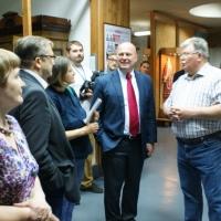 Российско-Германская делегация оценила выставку «Азиатская Россия» в Омском краеведческом музее