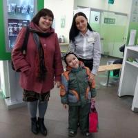 Сотрудники Сбербанка помогли омской журналистке вернуть сына