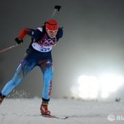 Омская биатлонистка сдала позиции на гонке преследования