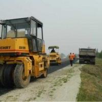В Горьковском районе Омской области реконструировали 5 километров автодороги