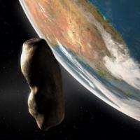 Через 4 дня астероид пролетит на близком расстоянии от Земли