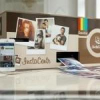 Автомат выполняющий печать фото из Инстаграм