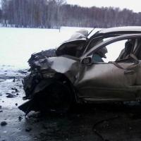 В аварии в Саргатском районе погиб ребенок