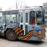 В День Победы по Омску будет ездить необычный троллейбус