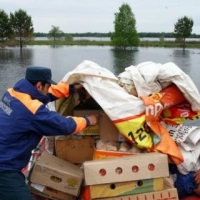 В Омской области уровень воды в Иртыше поднялся до 8 метров