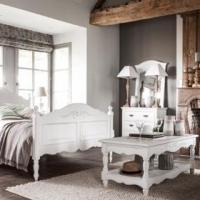 Французский прованс в интерьере спальни – подбираем мебель