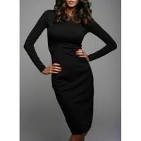 Элегантные платья с длинным рукавом: модная тенденция