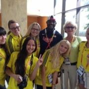 16 омичей работали волонтерами на чемпионате мира по легкой атлетике