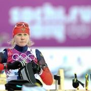 Омская биатлонистка в очередной раз осталась вдалеке от олимпийской медали