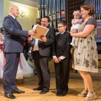 «Золотой семьей» Омской области стали супруги Костины, имеющие уже двух праправнуков
