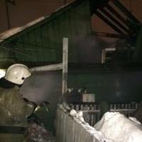 В Кировском округе Омска при пожаре в частном доме погибли два человека