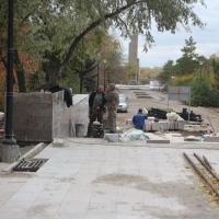 Подрядчики не уложились в сроки благоустройства омских общественных территорий
