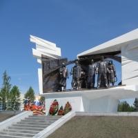 Шесть памятных стел дополнили мемориал омским труженикам тыла